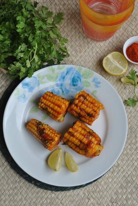 Indian Style Masala Corn