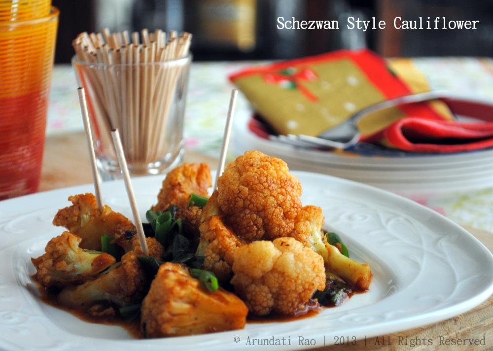 Schezwan Style Cauliflower