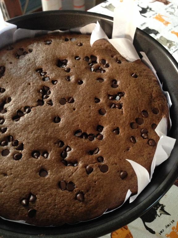 Choco Chip Chocolate Cake